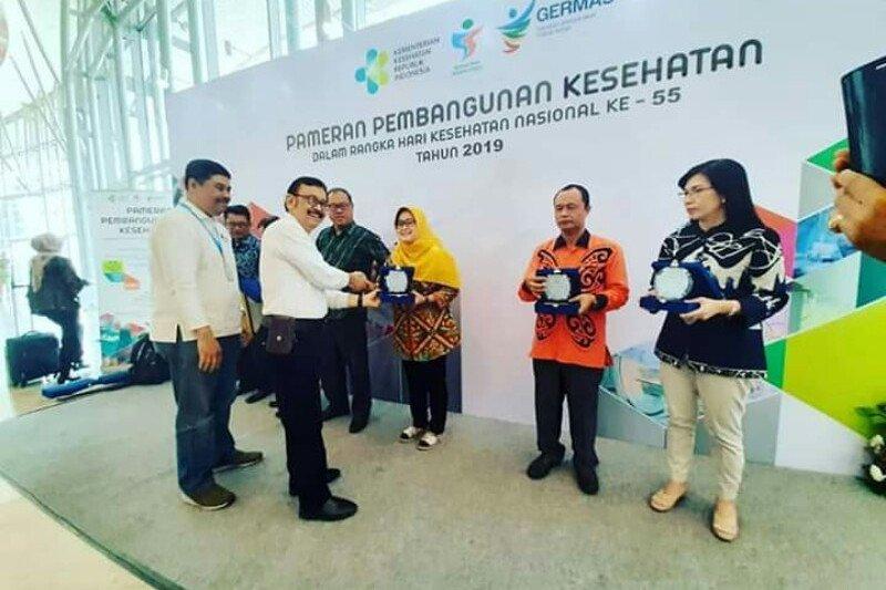 Dinkes Sulbar raih penghargaan inspirasi sehat Indonesia