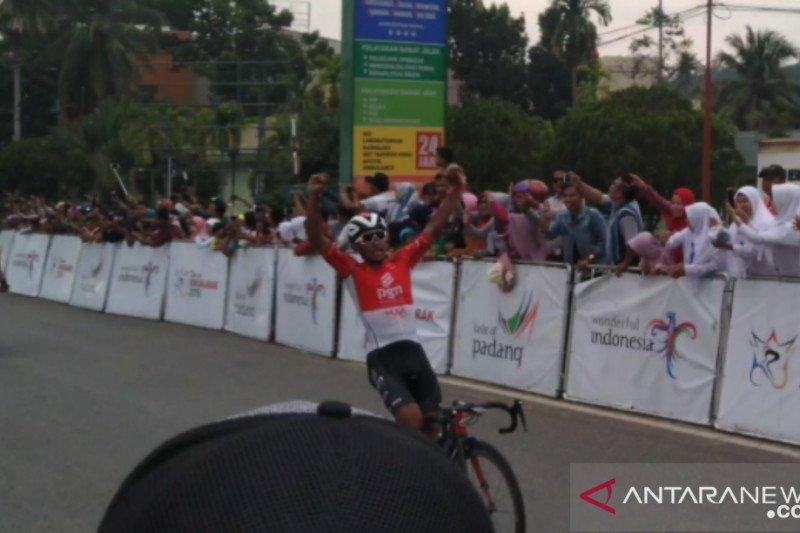 Jamalidin Novardianto tercepat di etape VIII TdS 2019