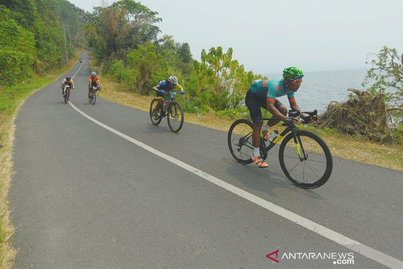 Berwisata dan bersepeda di Sriwijaya Ranau Gran Fondo Sumsel