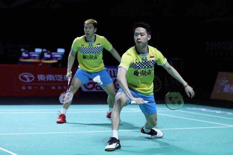 Marcus/Kevin ingin pertahankan gelar juara China Open