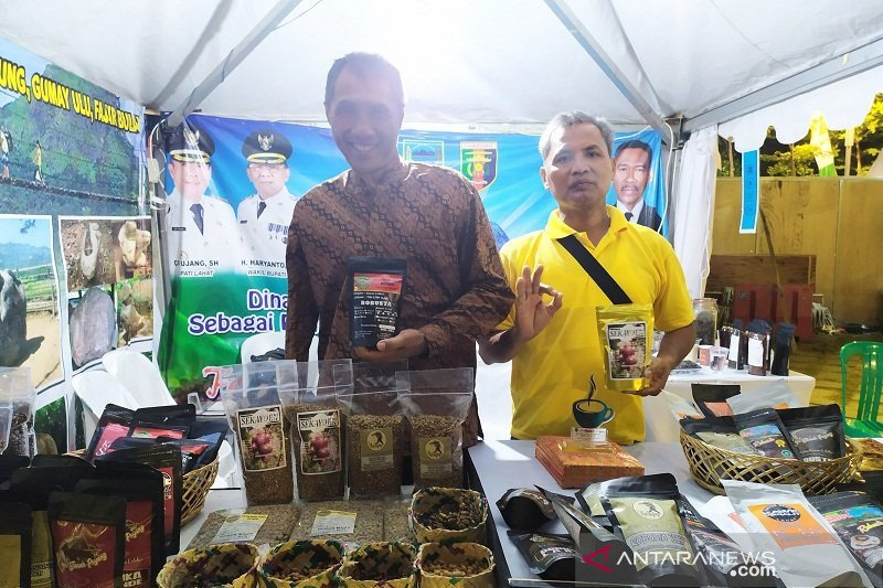 Kopi organik Lahat diperkenalkan di Festival Kopi Lampung