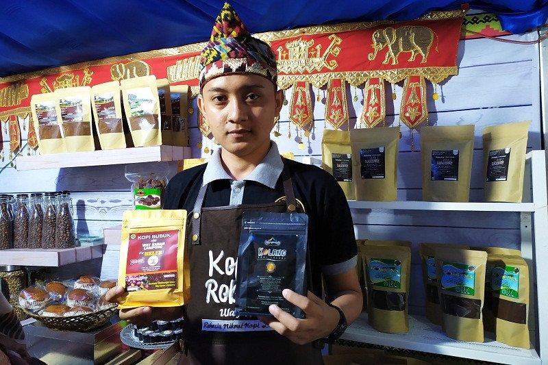 Kopi khas Way Kanan meriahkan Festival Kopi Lampung