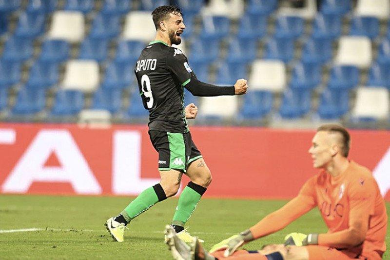 Sassuolo taklukkan Bologna 3-1 sekaligus salip sang lawan di klasemen