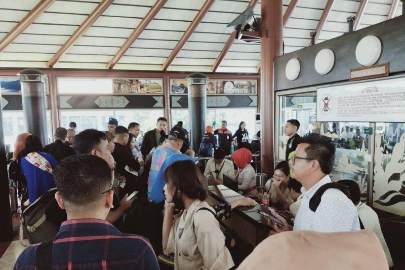 """Bandara Soekarno-Hatta kembali beroperasi normal pasca kisruh penerbangan Sriwijaya Air """"delay"""""""
