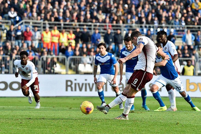 Liga Italia, Torino rusak debut Grosso sebagai pelatih Brescia