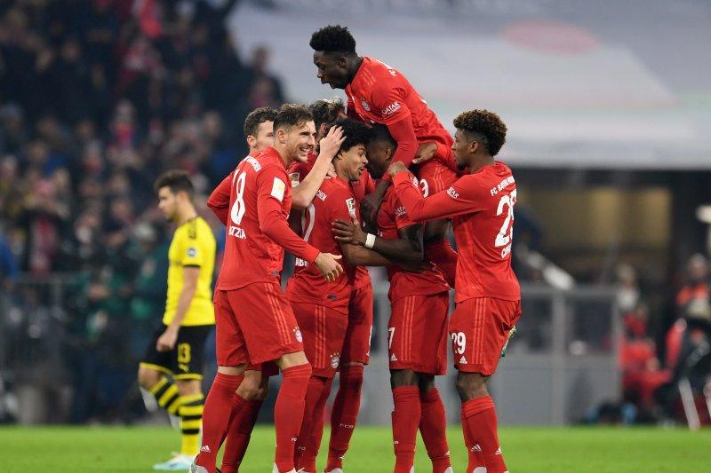 Der Klassiker, Bayern pukul Dortmund 4-0