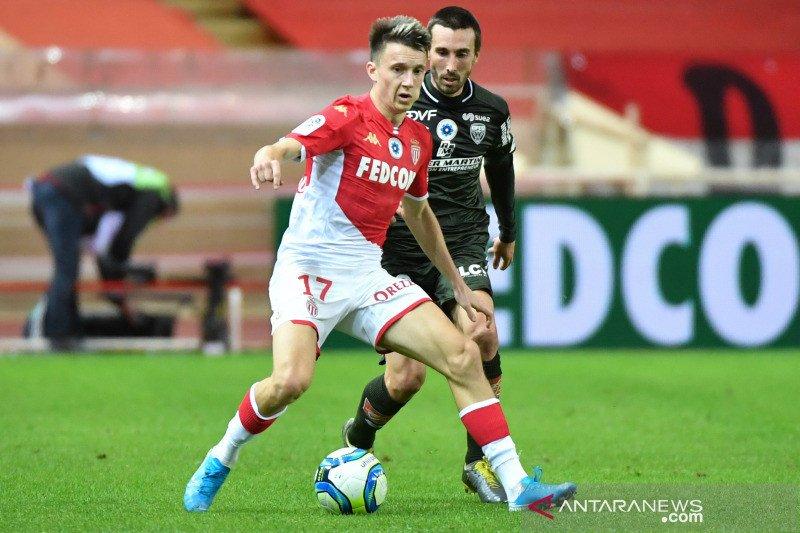 Monaco ke jalur kemenangan saat Lille bermain imbang atas Metz