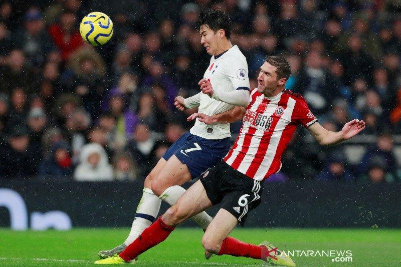 Tottenham Hotspur ditahan imbang Sheffield United 1-1