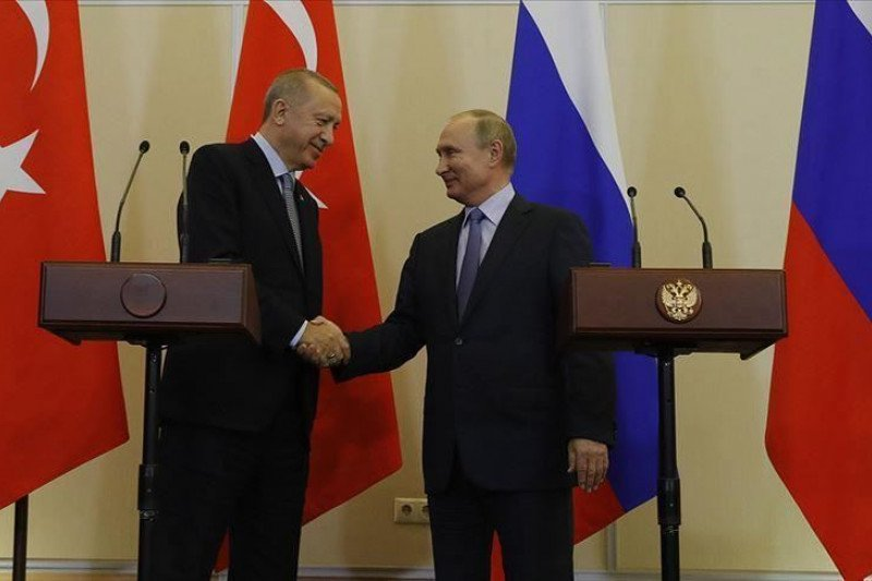 Presiden Turki-Rusia bahas perkembangan regional melalui telepon