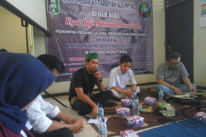 HMI Lampung Timur gelar bedah buku KH Hanafiah