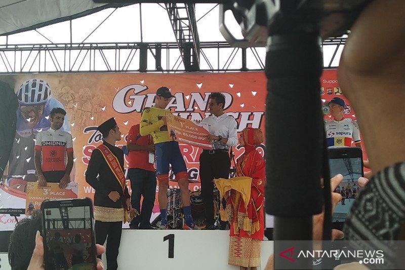 Jesse Ewart raih  juara Tour de Singkarak 2019
