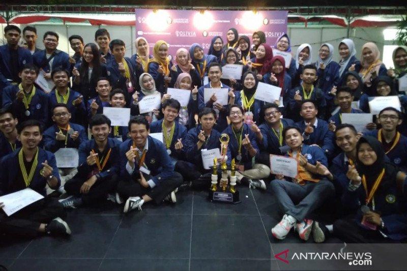 Mahasiswa Sekolah Vokasi IPB University juara umum Olivia 2019