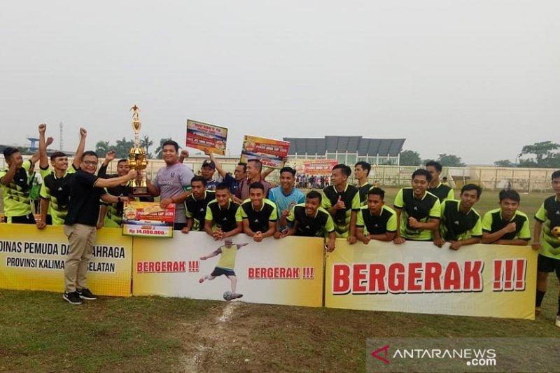 HST wins first champion of Paman Birin Cup 2019
