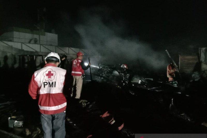 Polres Sukabumi nyatakan kebakaran pasar tidak ada unsur kesengajaan
