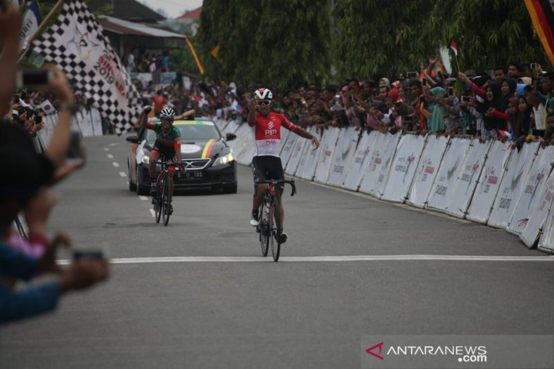 Pebalap tercepat etape VIII, mengintai  di etape IX TdS 2019