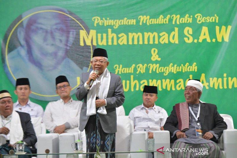 Wapres Ma'ruf Amin: Kemiskinan dapat membawa orang pada kekafiran