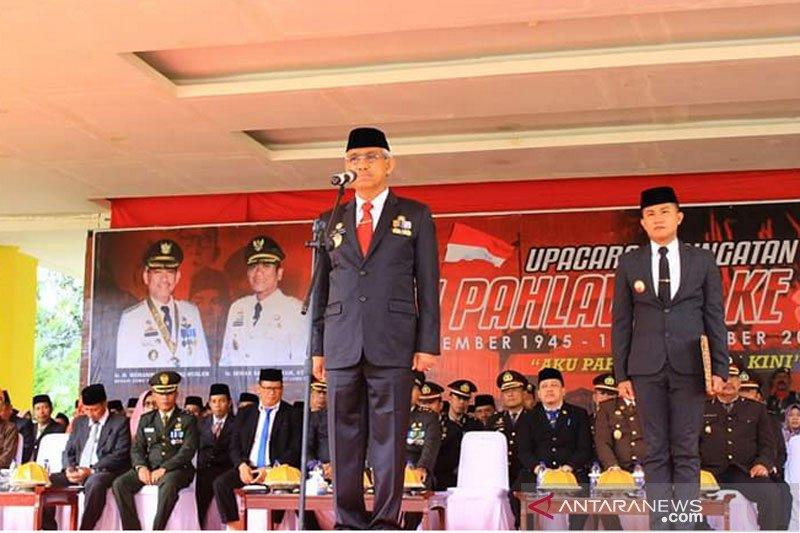 Bupati Lutim ingatkan warga tetap  jaga persatuan