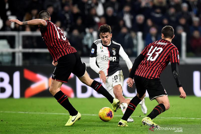 Tekuk Milan 1-0, Juventus kembali ke puncak klasemen