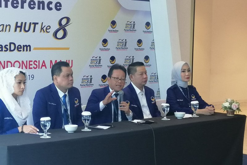 NasDem akan gelar konvensi jaring calon presiden 2024