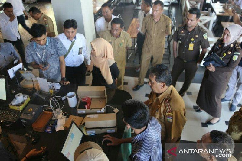 Alat rekam transasksi dipasang di sejumlah tempat usaha Palu