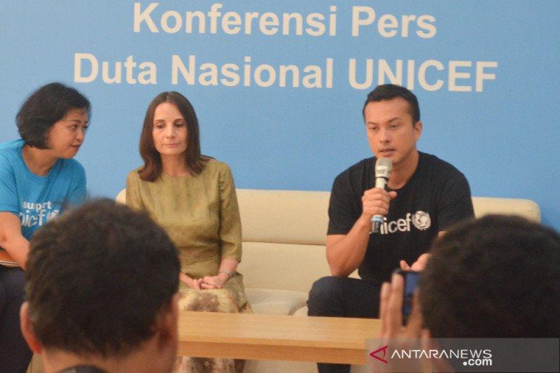 Nicholas Saputra dipilih jadi Duta Nasional  Unicef