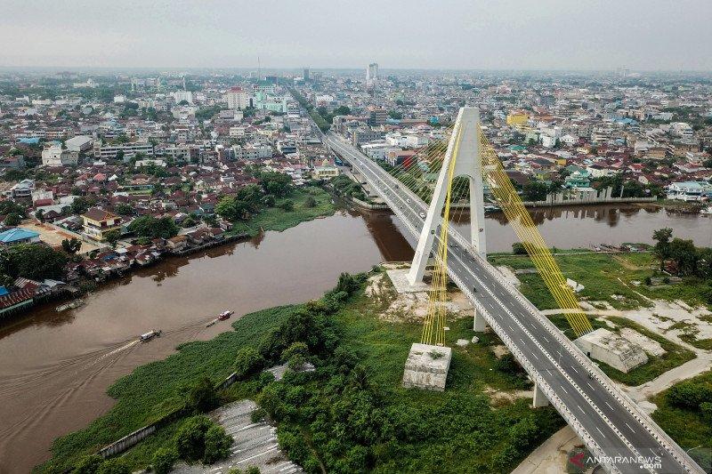 Ekspor Riau secara kumulatif anjlok 26,96 persen, begini penjelasannya