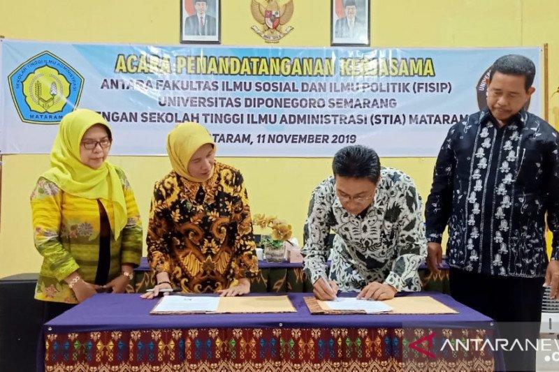 Universitas Diponegoro-STIA Mataram meningkatkan kualitas SDM