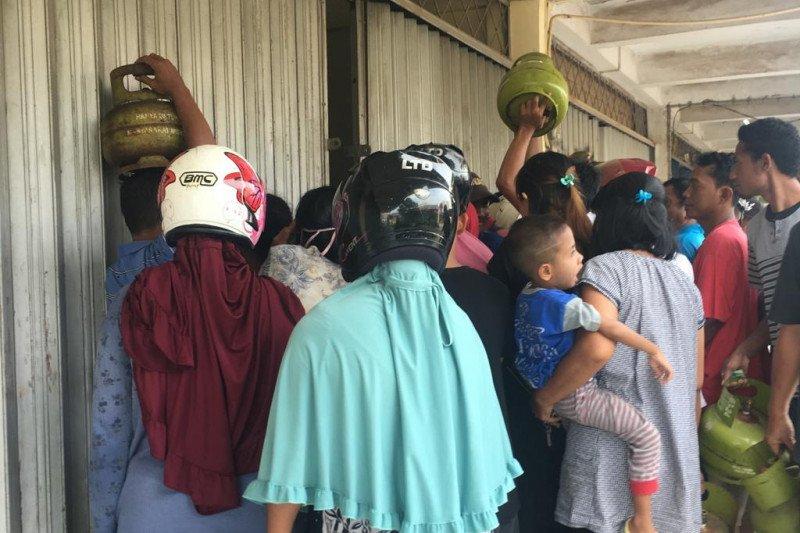 Warga Kota Batam keluhkan kelangkaan elpiji bersubsidi