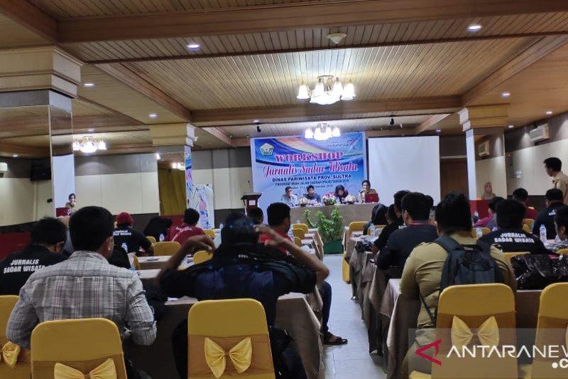 Dinas Pariwisata Sulawesi Tenggara gelar lokakarya jurnalis sadar wisata