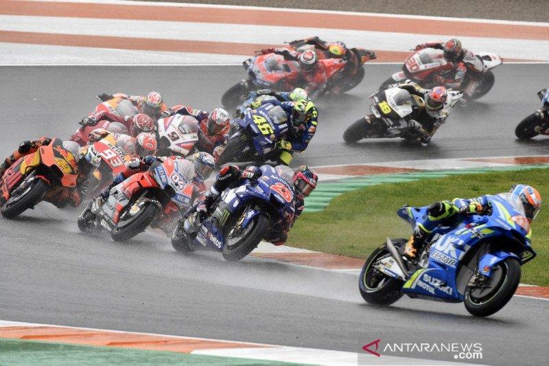 """""""Pertempuran"""" MotoGP seri terakhir di Valencia"""