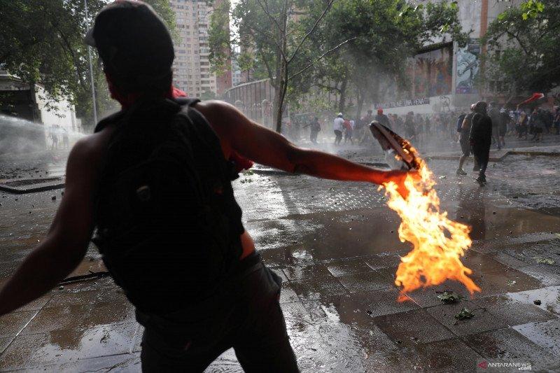 Polresta Deli Serdang tangkap pelaku pelemparan bom molotov