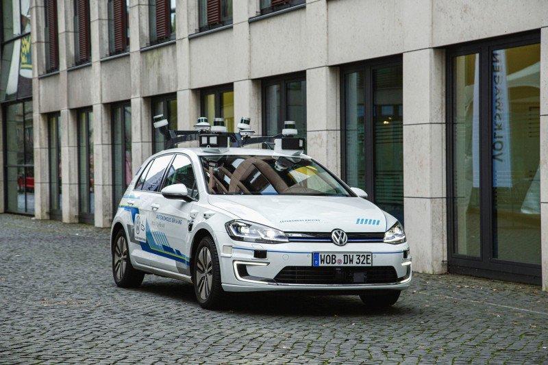 Volkswagen berambisi akan ciptakan kendaraan sepenuhnya otonom pada 2025