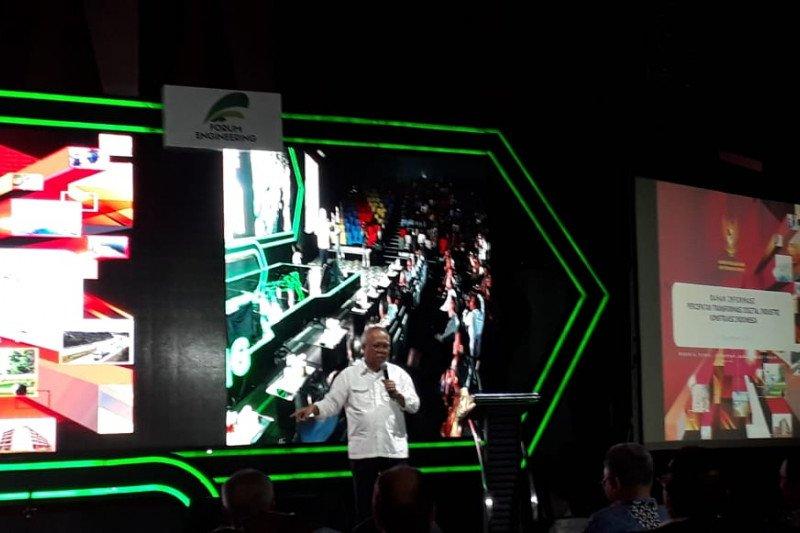 Menteri PUPR: Industri konstruksi lambat  memberdayakan digitalisasi