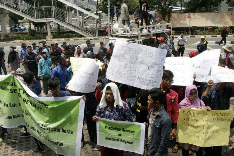 Karyawan Pt Palma Satu Minta Blokir Rekening Perusahaan Dibuka