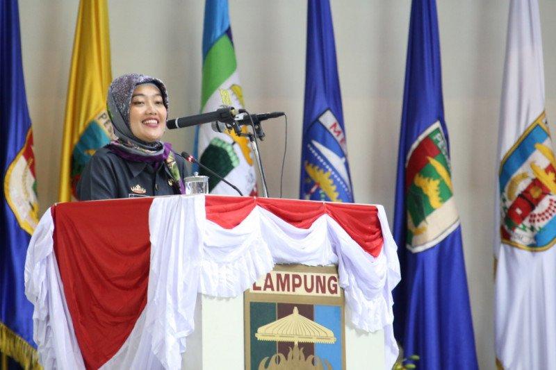 Wagub Lampung Nunik serahkan rancangan KUA PPAS APBD 2020