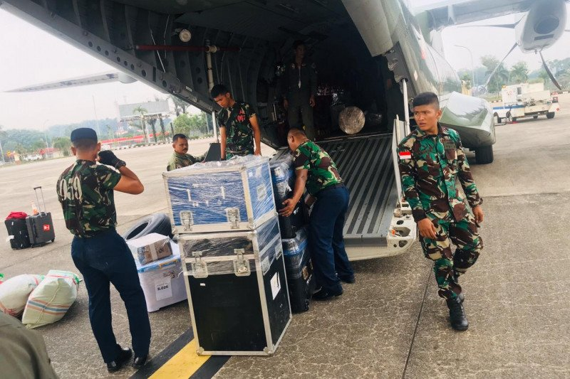 TNI AU kirim sonar bantu pencarian kapal MV Nur Allya