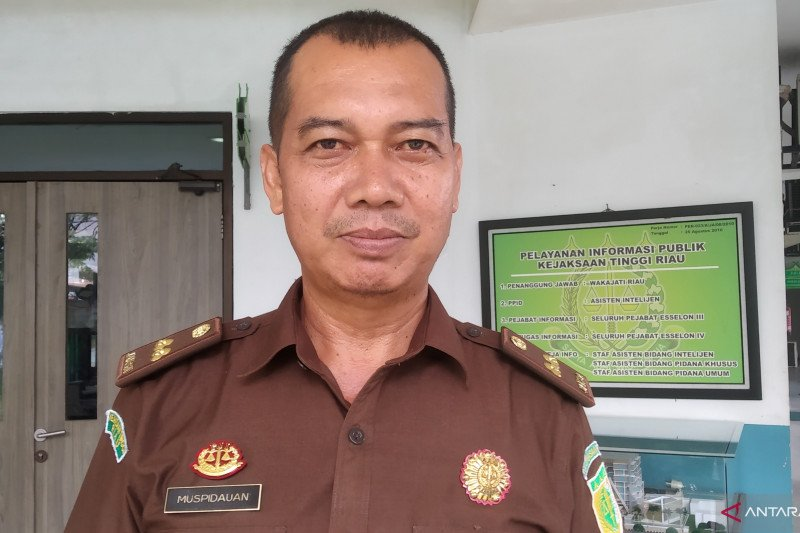 Kejaksaan Riau: Berkas korporasi tersangka Karhutla lengkap