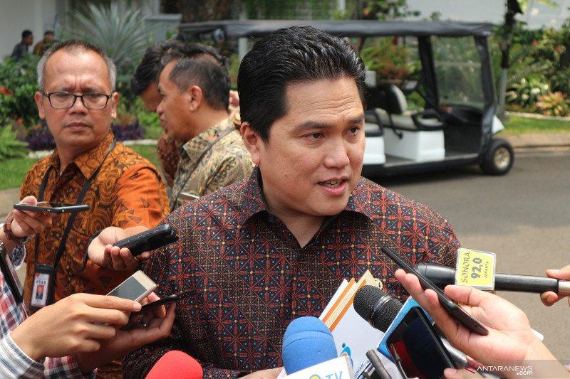 Erick Thohir serahkan nama calon direksi tiga BUMN