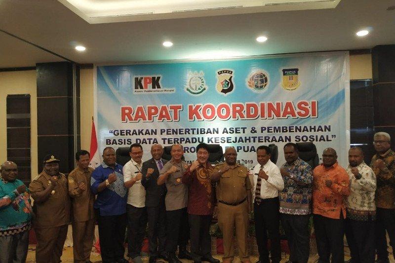 KPK dorong benahi DTKS dan penyelamatan aset senilai Rp21 miliar