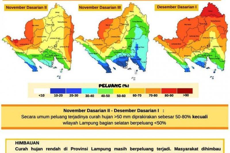 BMKG imbau warga Lampung antisipasi dampak kekeringan karena kemarau