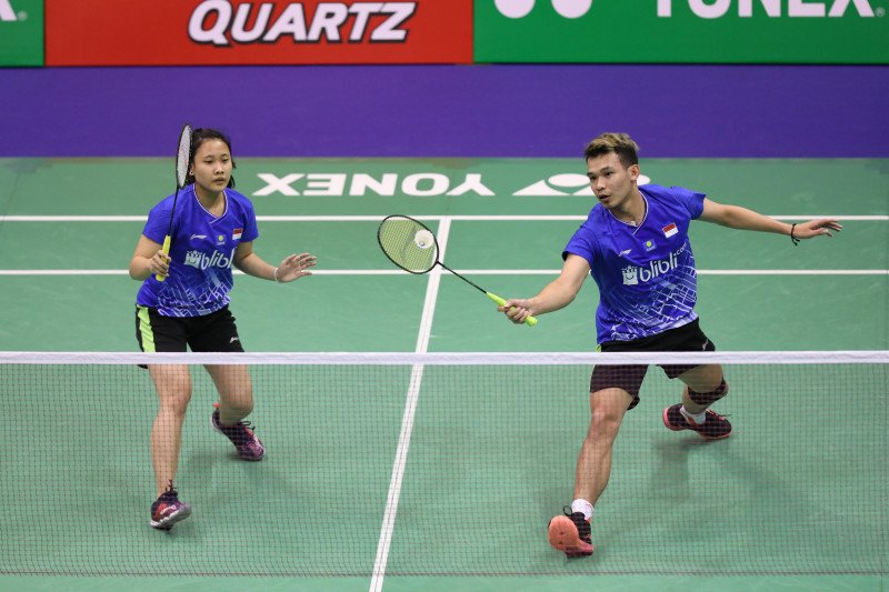 Kalah di Hong Kong Open, Rinov/Pitha mengakui harus banyak belajar
