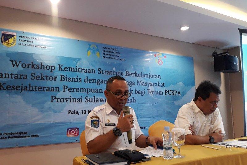 KPPPA-DP3A Sulteng tingkatkan peran Forum Puspa penuhi hak perempuan-anak