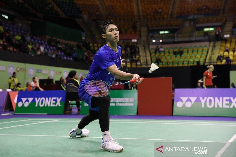 Jonatan ke  semifinal Hong Kong Open usai tumbangkan Antonsen