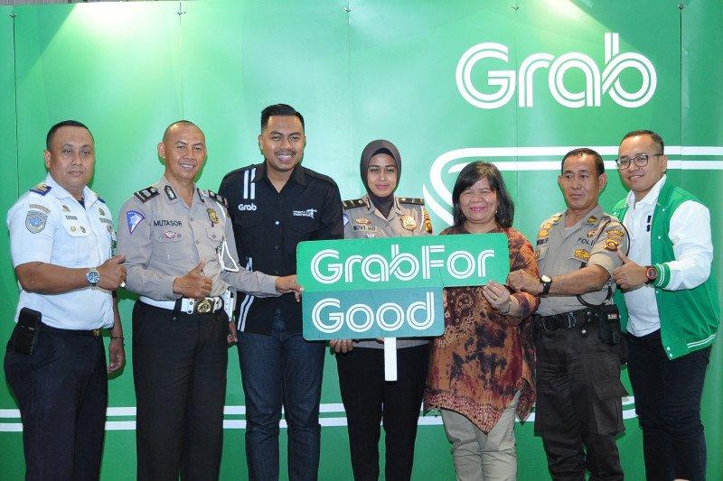Grab jamin keselamatan pengguna lewat  fitur baru pada Safety Roadshow di Palembang