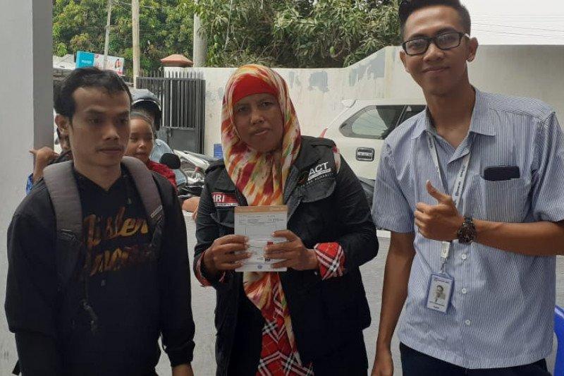 Dede Suhendar Terima Bantuan ASPD Kementerian Sosial