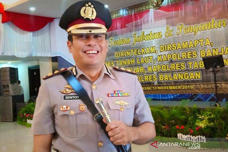 Kapolres pembongkar ilegal loging promosi ke Mabes Polri
