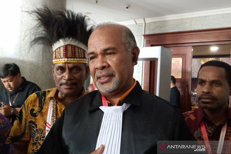 Sidang otsus Papua di MK ditunda karena telat ajukan pemberitahuan ahli