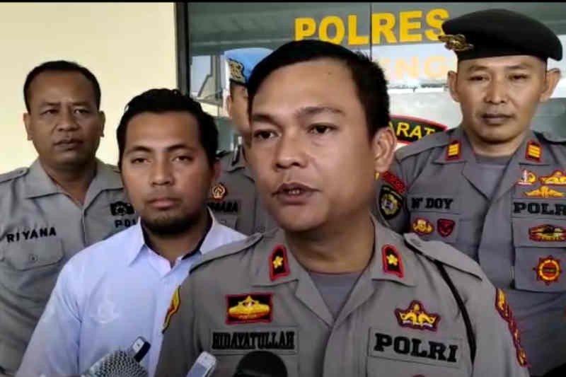 Polres Majalengka belum tetapkan tersangka kasus penembakan kontraktor