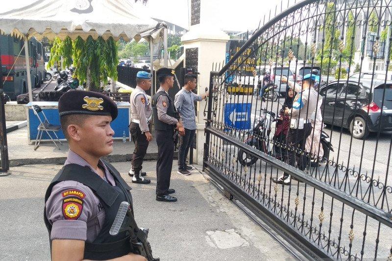 Polda Riau perketat penjagaan pasca-insiden bom Medan