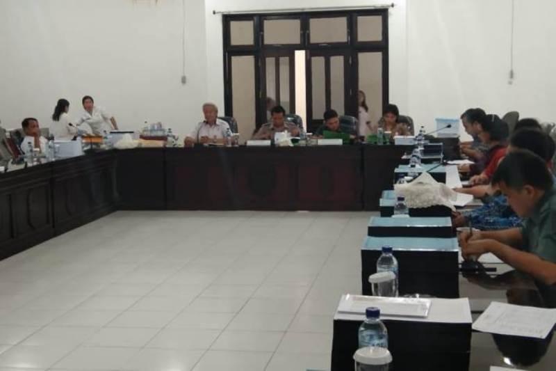 DPRD Gumas lakukan pengawasan selama pembahasan RAPBD 2020